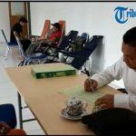 VIDEO: Donor Darah PMI Sanggau di PLTU Sungai Batu, Ada Peserta yang Sudah 90 Kali Donor