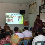 Diskominfo Sanggau mensosialiasikan Anti Hoax Di Desa Belangin