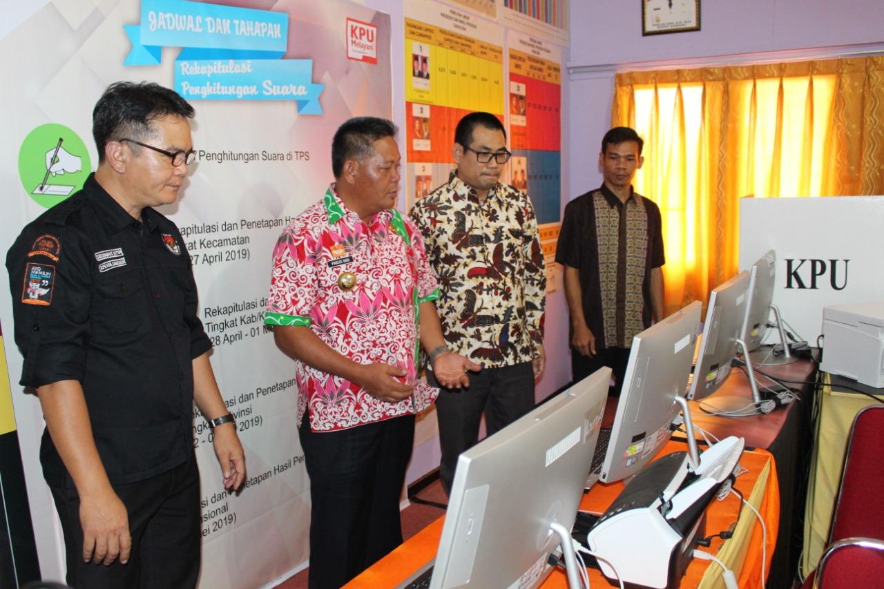 KPU Sanggau Resmikan Rumah Pintar Pemilu (Sangga Data), Untuk Mewujudkan Pemilu Yang Berdaulat Dan Bermartabat