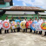 Wakil Bupati Sanggau Apresiasi Hasil Kerajinan Tangan Siswa Siswi Kembayan