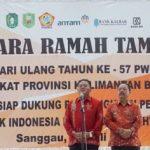 Bupati dan Wakil Bupati Sanggau Hadiri HUT PWRI ke-57