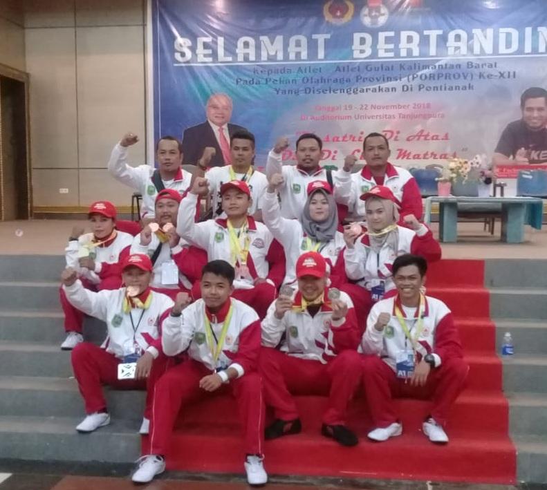 Cabor Gulat dan Kempo Sanggau Masing-masing Menyumbang Dua Medali Emas