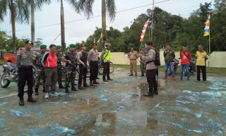 Polsek Entikong Bersama Koramil dan Kecamatan Entikong Siaga Karhultla