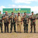 Melalui TMMD Kodim 1204/Sanggau Untuk Membangun Infrastruktur dan Kesejahteraan Masyarakat Perdesaan