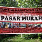 PASAR MURAH MENYAMBUT HARI RAYA NATAL DAN MENJELANG TAHUN BARU 2019 DI GEDUNG PERTEMUAN UMUM KEC. PARINDU