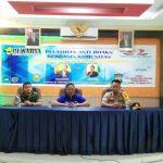 Bupati Sanggau Membuka Secara Resmi Pelatihan Anti Hoaks Berbasis Komunitas