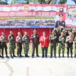 Bupati Sanggau Pimpin Upacara Hari Bhayangkara ke-73 di Kembayan