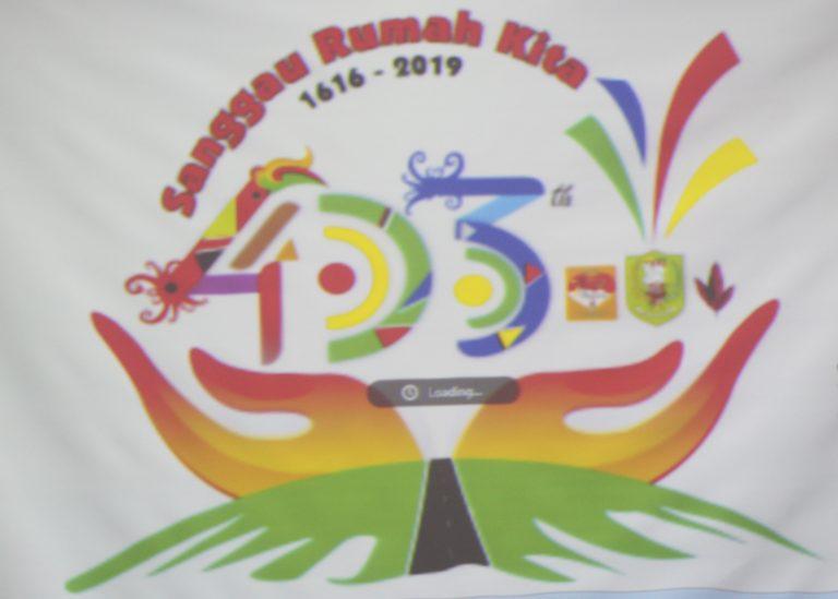 Bupati Melaunchingkan Logo Hari Jadi Ke-403 Kota Sanggau