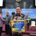 Bupati Sanggau Terima DIPA TA.2019 Sekaligus Mendapat Penghargaan WTP Atas Dasar Keberhasilan Menyusun Anggaran 2017