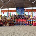 Bupati Sanggau Membuka Secara Resmi O2SN dan FLS2N Tingkat Kabupaten Sanggau Tahun 2019