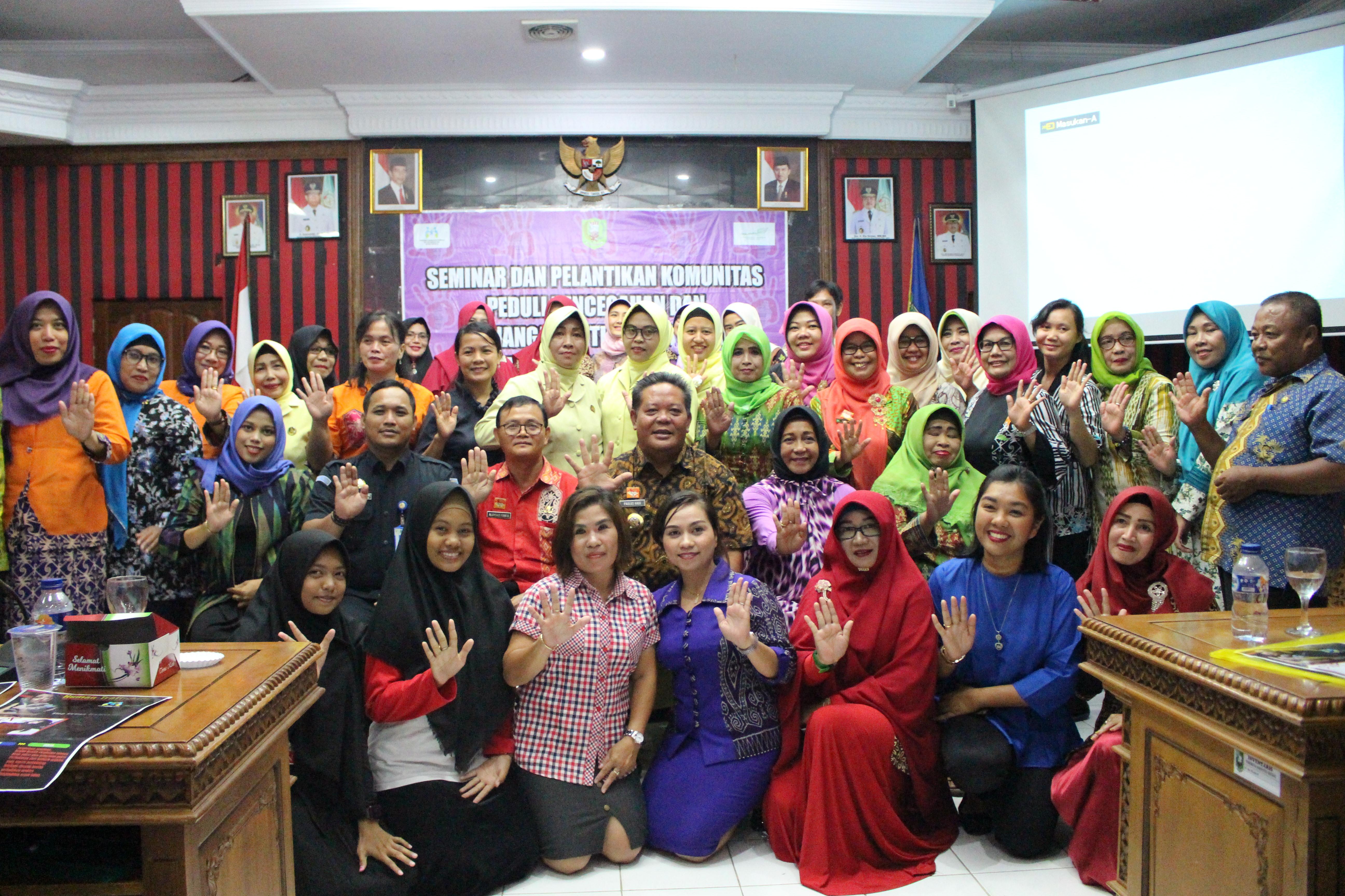 Bupati: Kita Cegah Tindak Pidana Perdagangan Orang di Kabupaten Sanggau