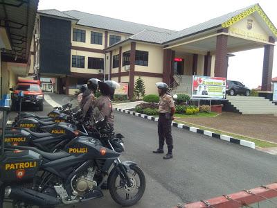 Patroli Rutin Anggota Sabhara Polres Sanggau