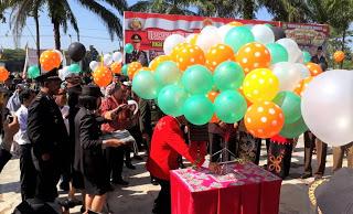Sayembara Balon Berhadiah dari Polres Sanggau