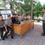 Kabag Ops Polres Sanggau Pimpin Rapat Dalam Rangka menyambut Lomba Sumpit