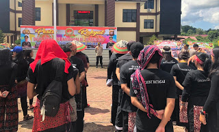 Kapolres Sanggau Tutup Open Turnamen Sumpit