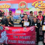 Perwakilan Polres Singkawang raih juara Umum dalam Open Turnamen Sumpit