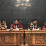 Kapolres Hadiri Rapat Evaluasi Pelaksanaan tata niaga Tandan Buah Segar (TBS) Kelapa Sawit Perkebunan Kab. Sanggau