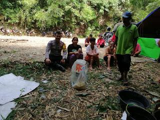 Patroli di Desa Binaan Bhabinkamtibmas Sosialisasikan Stop Karhutla