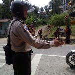 Strong Point Bhabinkamtibmas di Depan SMPN 3 Sanggau