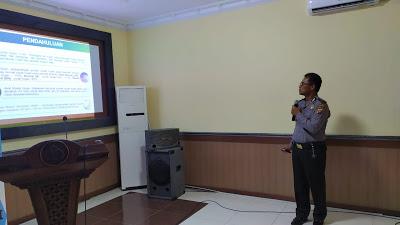 Polres Sanggau Gelar Latihan Pra Operasi Bina Karuna Kapuas 2019