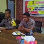 Asistensi dan Binteknis Biro Operasi Polda Kalbar di Polres Sanggau