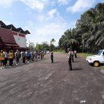 Polres Sanggau Adakan Pelatihan dan Pembinaan Kesamaptaan Untuk Calon PAG