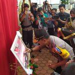 Kapolda Kalbar Resmikan Tribun Promoter Polres Sanggau