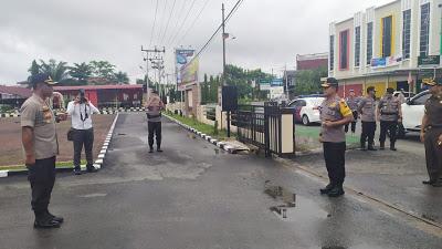 Polres Sanggau Menerima Kunjungan Kerja Kapolda Kalbar
