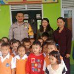 Police Goes To Scool Brigadir Novi Iswandi Sambangi Paud Dusun Berungkat