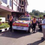 Upacara Tradisi Wisuda Purna Bhakti Polri Pamen, Pama dan Brigadir Polres Sanggau 2019