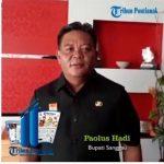 VIDEO: Ucapkan HUT Tribun Pontianak Ke-11, Ini Ungkapan Bupati Sanggau
