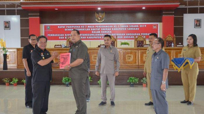 DPRD Sanggau Gelar Rapat Paripurna, Bahas Raperda Pertanggungjawaban APBD Tahun 2018