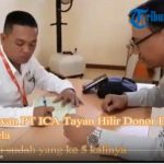 VIDEO: Suasana Donor Darah PMI Sanggau di PT ICA Tayan Hilir