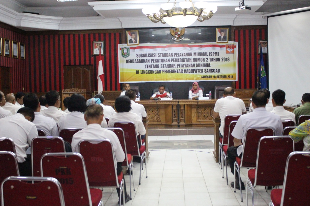 Bupati Sanggau Berharap SPM Kabupaten Sanggau Bisa Meningkat