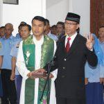 Direktur PDAM Tirta Pancur Aji Resmi di Lantik Oleh Bupati Sanggau