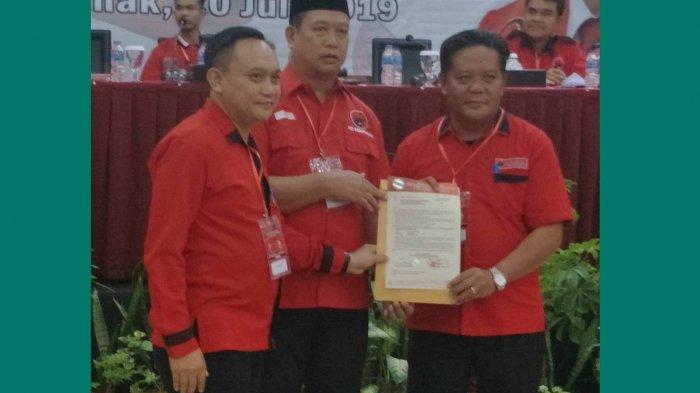 Jabat Ketua DPC PDI Perjuangan Sanggau, Ini Ungkapan Paolus Hadi