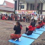 Meriahkan Hari Bhayangkara Ke-73, Polres Sanggau Gelar Open Tournament Sumpit dan Sampan Bidar