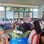 Polsek Tayan Hulu Berikan Penyuluhan Bahaya Narkoba dan Etika Berlalu Lintas di SMK Agape Sosok