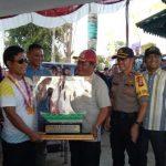 Tim Elang Jantan Sabet Juara Pertama Open Turnamen Sampan Bidar Piala Bergilir Polres Sanggau