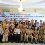 Kementerian Kesehatan Selenggarakan Sosialisasi KKM di Kabupaten Sanggau