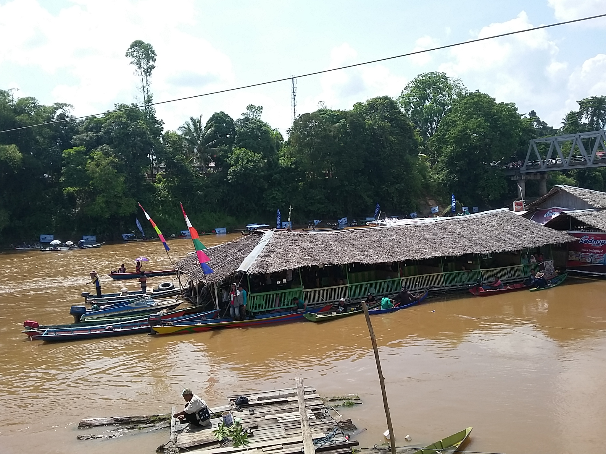 1368 PESERTA LOMBA MANCING MANIA HARI JADI KE-402 KOTA SANGGAU