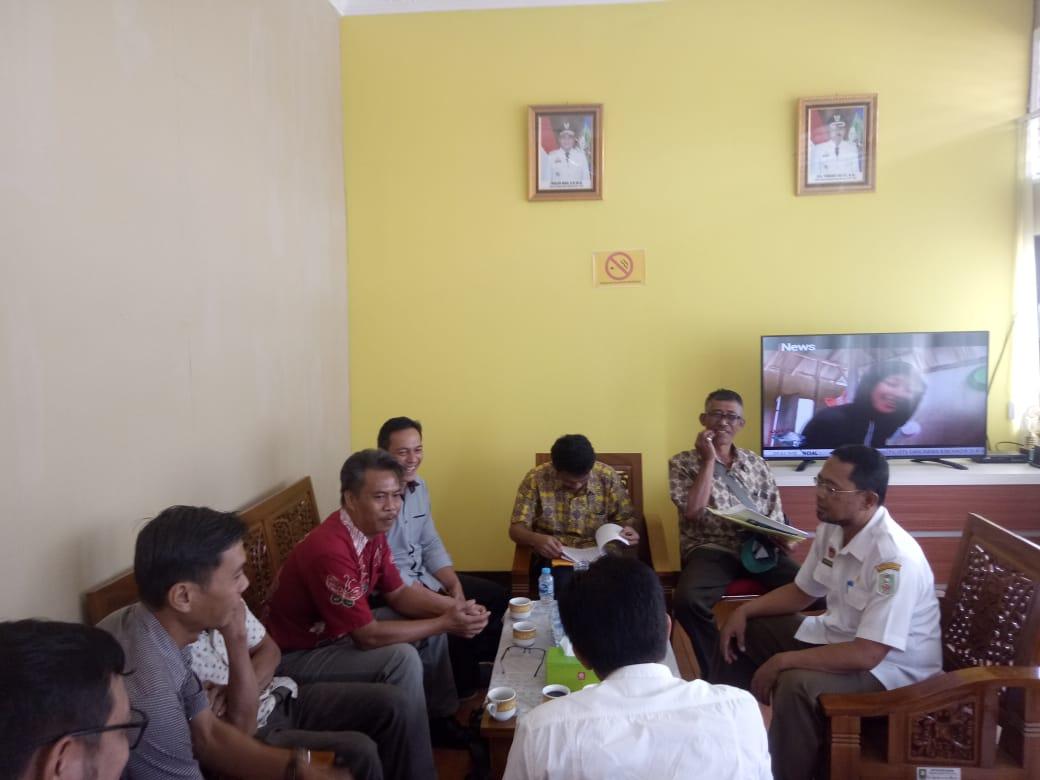 Disbunnak Sanggau dan SPKS Jajaki Kerjasama
