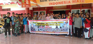Polsek Mukok Gelar Silahturami Kamtimas dan Doa Bersama di Kecamatan Mukok