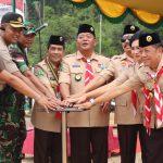 1.580 Peserta Meriahkan Peringatan Hari Pramuka di Kab.Sanggau
