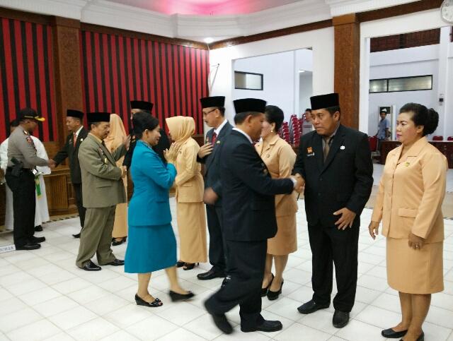 Bupati Minta Seluruh Kepala OPD Dukung Kebijakan Program Kerja Pemerintah Daerah