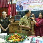 Wakil Bupati Sanggau Rayakan Ultah Ke-57 Tahun