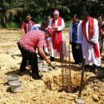 Pembangunan Gereja St.Yosef Freinademetz Telah Dimulai