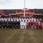 Upacara Penurunan Bendera Merah Putih Tutup Peringatan HUT RI ke-74 di Kabupaten Sanggau