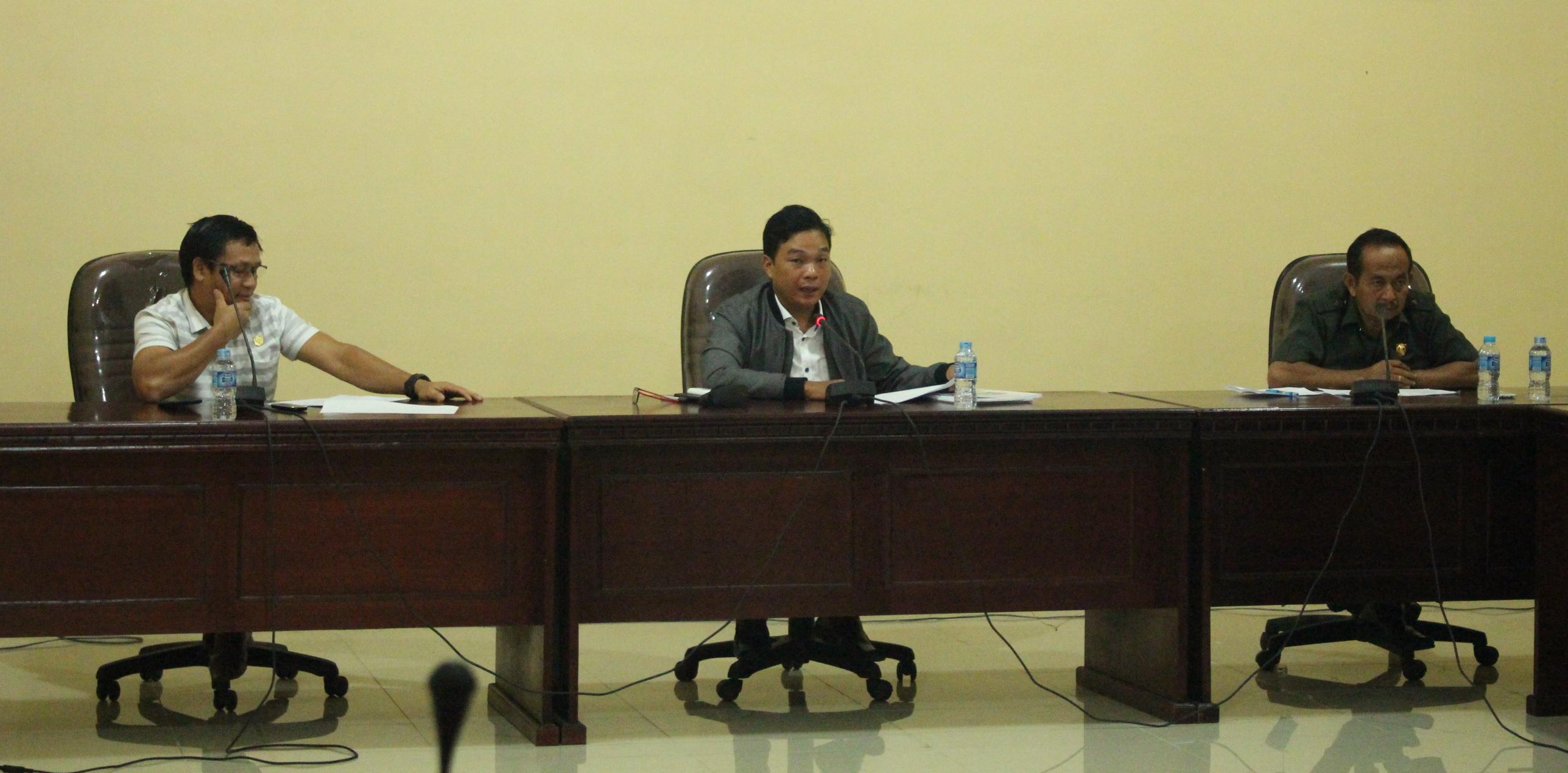 Pembahasan Program Pembentukan Perda Kabupaten Sanggau Tahun 2017 TA. 2018