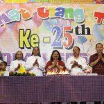 Perayaaan Puncak Pesta Perak SD Swasta Erna Kayu Tunu  ke-25 Tahun